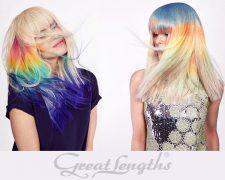 Farbsensationen Unicorn und Rainbow - Bild