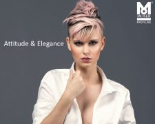 Step-by-Step - Undercut Attitude & Elegance: Step-by-Step - Anleitungen