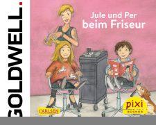Jule und Per beim Friseur: Goldwell kooperiert mit dem CARLSEN Verlag - Bild
