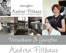 Friseur-Zeitschrift Intercoiffure Andrea Filthaus zieht um und schafft so den Neuanfang