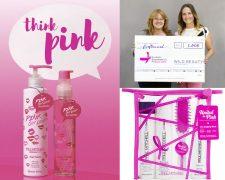 Think Pink - erfolgreiche Spendenaktion für Brustkrebs Deutschland e.V. - Bild