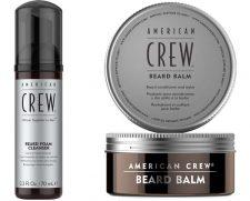 Friseur-Zeitschrift American Crew Beard Balm & Beard Foaming Cleanser