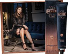 4 Shades younger: AGE DENIED takes control of ageing hair: TIGI® Haircare GmbH