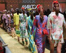 1001-Nacht Feeling und Style-Glamour bei der Marc Cain Show - Bild