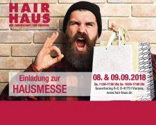 HAIR HAUS Hausmesse 2018 - Bild