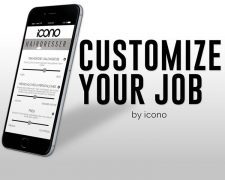 customize your job - ICONO individualisiert den Arbeitsplatz: