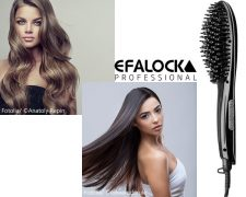 Perfektes Langhaar-Styling mit der Easy Straight Brush von Efalock: