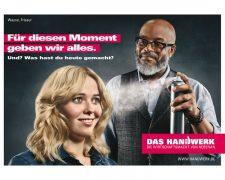 Frisur 2018: Imagekampagne Handwerk glänzt mit Friseurhandwerk