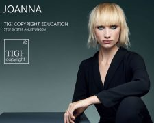 TIGI COPYRIGHT EDUCATION - JOANNA: Step-by-Step - Anleitungen