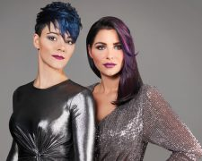 Blue Titanium: Frisuren Frauen