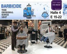 Friseur-Zeitschrift BARBICIDE & Top-Barbiere Alexander Feldmann und Jerome Kantner auf der Top Hair - Die Messe