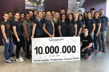 2   10.000.000 Haarsträhnen gefertigt