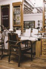2 | Denkmalgeschützter Salon Harand in Herr Zopfs Friseurmuseum Neu-Ulm