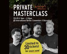 Masterclass im Rahmen der Barber Convention 2019 - Bild
