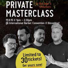 2 | Masterclass im Rahmen der Barber Convention 2019