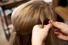 Frisuren-Trends 19 - Step-by-Step zum Weihnachtslook