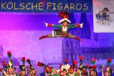 Abfeiern, bis der Arzt kommt bei der Kostümsitzung der Kölschen Figaros 2020 - Bild