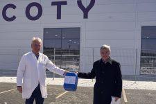 Coty Rothenkirchen produziert und spendet Handdesinfektionsmittel, um Eindämmung des Coronavirus zu unterstützen - Bild
