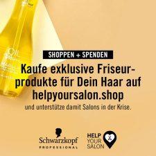 4 | Schwarzkopf Professional - HelpYourSalon damit das Haar nicht in der Corona-Krise bleibt