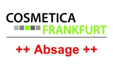 Absage COSMETICA Frankfurt 2020 - Bild