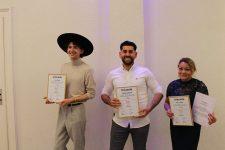 1 | Die besten Friseurgesellinnen und -gesellen beim praktischen Leistungswettbewerb in Frankfurt/Main
