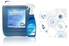 Sichere Salondesinfektion - Barbicide präsentiert den 5 Liter Refill Kanister für das beliebte Desinfektionsspray - Bild