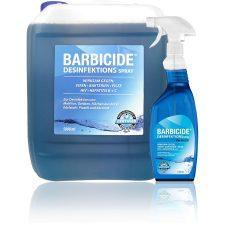 Sichere Salondesinfektion - Barbicide präsentiert den 5 Liter Refill Kanister für das beliebte Desinfektionsspray