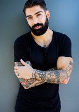 Frisuren-Trends 2 - Modern Side Part & Beard Look by MOSER