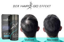 HAIR&GO Streuhaar zur Haarverdichtung & vollem Haar in Sekunden