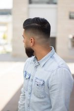 Frisuren-Trends 19 - Side Parting Fade Haircut