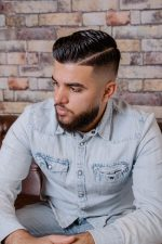 Frisuren-Trends 4 - Side Parting Fade Haircut