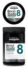 Makellose Balayage mit Blond Studio 7 Clay Blondierpulver
