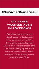 2 | #NurSicherBeimFriseur - Kampagne von 12 betroffenen Unternehmern bewegt Deutschland