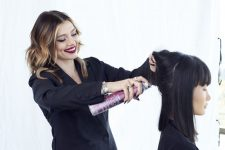 Frisuren-Trends 1 - Duble Ash Prism Lights Technik von Larissa Love