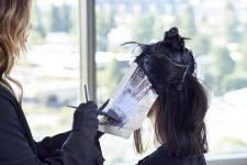 Frisuren-Trends 10 - Duble Ash Prism Lights Technik von Larissa Love