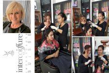 Cornelia Fabbricatore verwirklicht Coiffeur-Hilfsprojekt in Kambodscha - Bild
