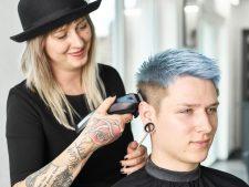 Frisuren-Trends 5 - Trendlook Blue Crop by MOSER
