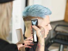 Frisuren-Trends 7 - Trendlook Blue Crop by MOSER