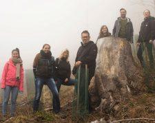 1 | La Biosthétique pflanzt 1000 Bäume im Kanton Schwyz