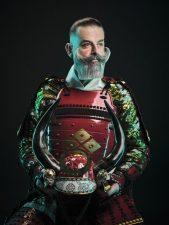 Frisuren-Trends 15 - Duke Johns Barbershop präsentiert einzigartige Samurai Kampagne