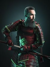 Frisuren-Trends 20 - Duke Johns Barbershop präsentiert einzigartige Samurai Kampagne