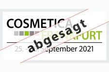 Die COSMETICA Frankfurt 2021 findet nicht statt - Bild