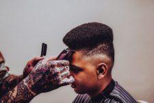 Frisuren-Trends 7 - Muscle Cars Collection - Der Neureiche