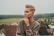 Frisuren-Trends 17 - Faded Pixie by MOSER