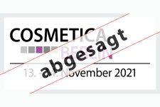 COSMETICA Berlin 2021 findet nicht statt - Bild