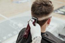 Frisuren-Trends 4 - High Zero Fade Sidepart