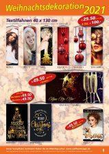 Topaktuelle Banner und Poster: Herbst- und Weihnachtsdekoration jetzt bestellen